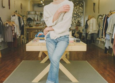 """""""I think my interest in fashion came from owning that message [of identity] and owning that narrative,"""" says Blok. """"And whether that's dressing more masculine or more feminine or more androgynous, really owning how the clothes I wear present and communicate who I am."""" Photo: @clancycoop"""