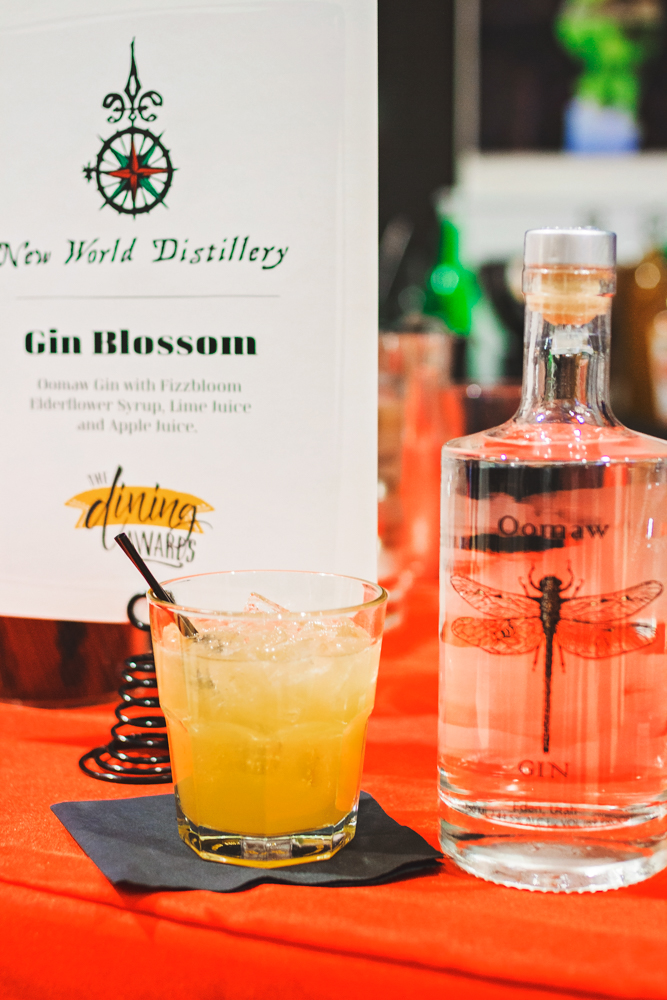My new favorite distillery, New World Distillery, came out to sample their wares. Photo: Talyn Sherer