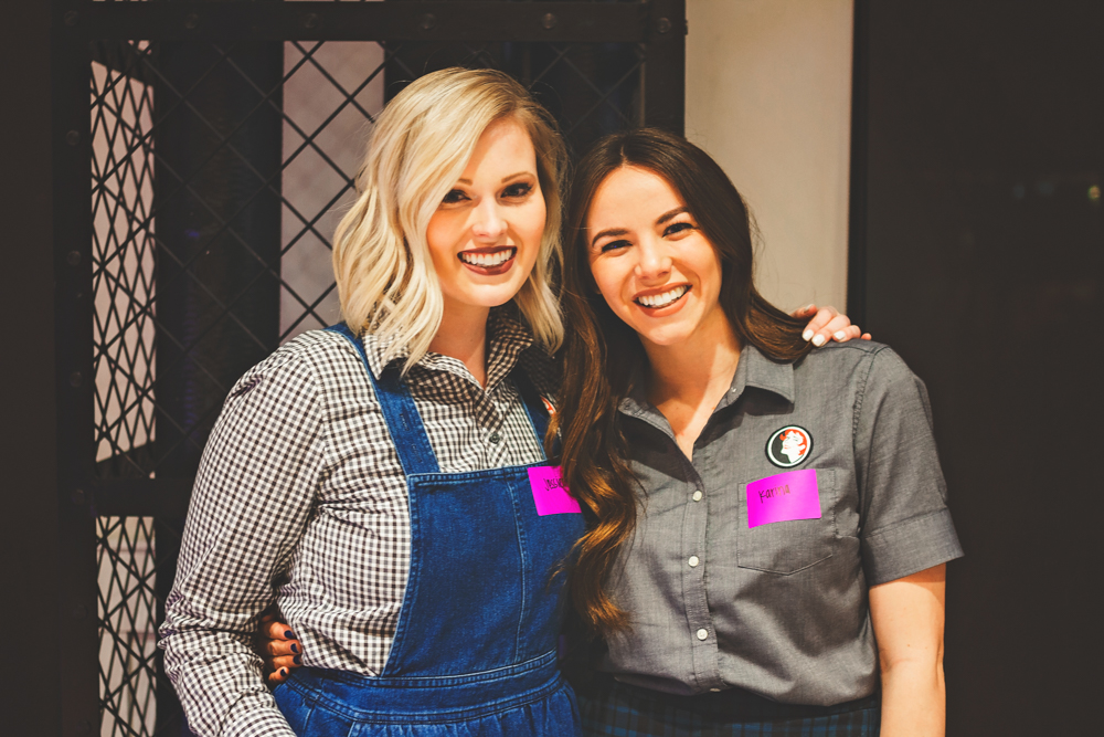 (L–R) Jessica Olsen and Karina Nelson helped us keep our sugar rush going with the delicious cookies they serve up at Ruby Snap. Photo: Talyn Sherer