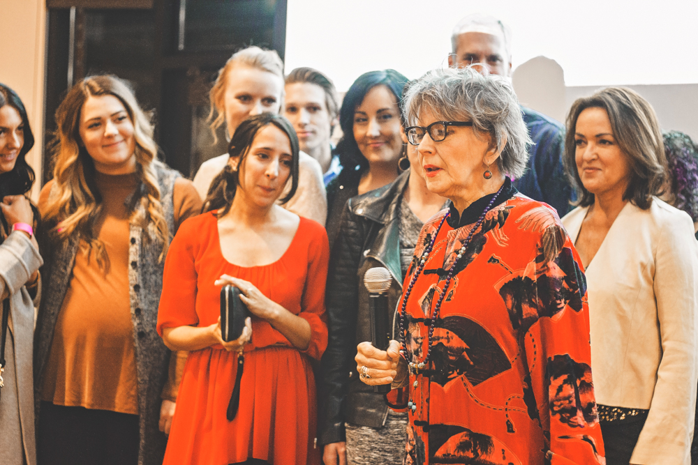 Mary Brown Malouf, executive editor of Salt Lake Magazine, talks about why food has become so integrated into Salt Lake Magazine and the relationships it has formed as a result. Photo: Talyn Sherer