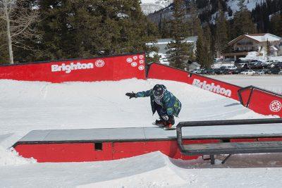 Men's 17 & Under Snow 2nd place winner Ashton Davis, nose press. Photo: @cezaryna