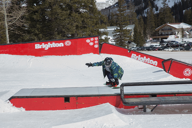 Men's 17 & Under Snow 2nd place winner Ashton Davis, nose press. Photo: @cezaryna