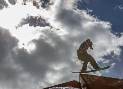 Men's Open Snow, Jaromie Nolan, blunt to gap. Photo: @cezaryna