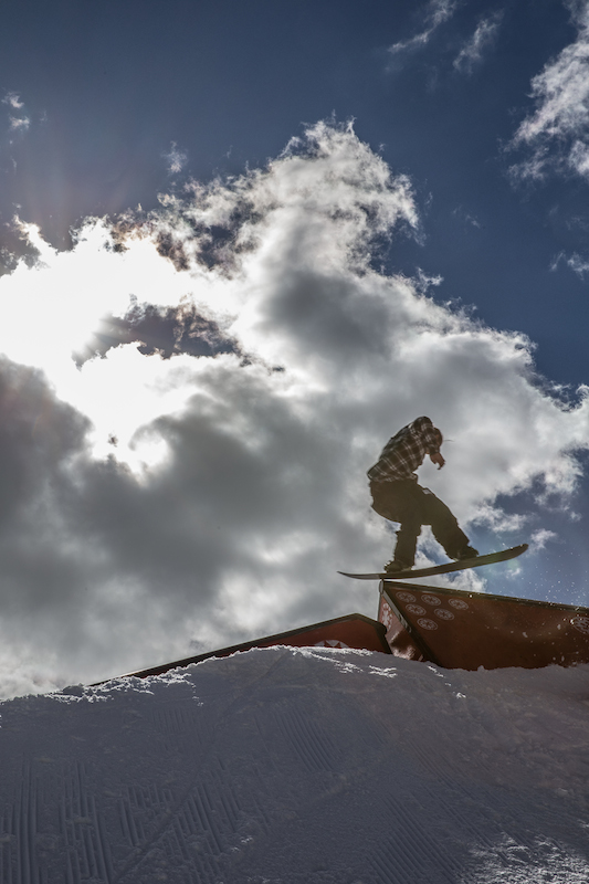 Men's Open Snow, Jaromie Nolan, blunt to gap. Photo: @cezaryna