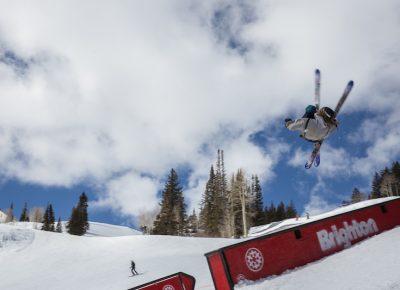 Men's Open Ski, Samuel Horton, huge rodeo. Photo: @cezaryna