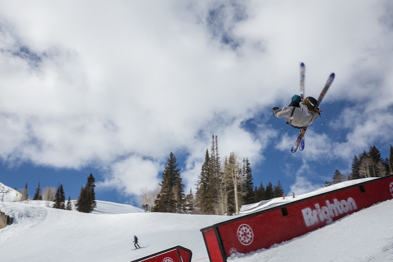 Men's Open Ski, Samuel Horton, huge rodeo. Photo: @cezaryna
