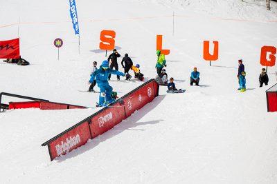Alex Maller, rail slide. Photo: CJ Anderson