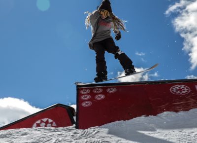 Men's Open Snow, Tristan Heiner, tail press to gap. Photo: @cezaryna