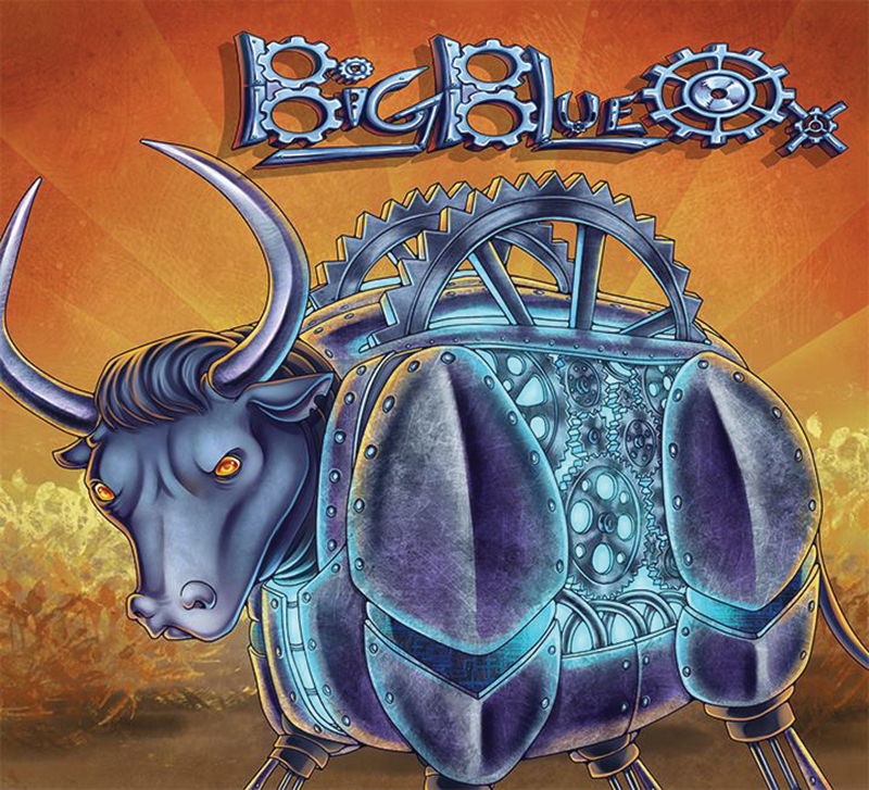 Local Review: Big Blue Ox – Self-titled
