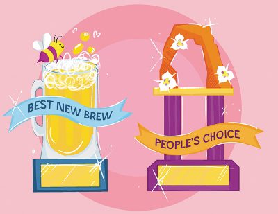 SLUG Mag's Brewstillery will feature two awards for festival-exclusive brews: Best New Brew and People's Choice.