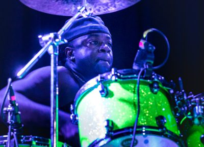Drummer for Culture Crew onstage at Metro Music Hall. Photo: Lmsorenson.net