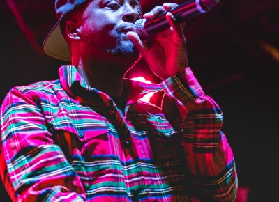 Wyclef Jean freestyling at Metro Music Hall. Photo: Lmsorenson.net
