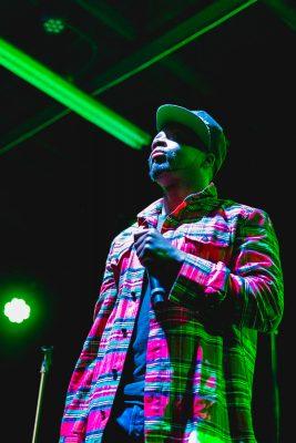 Grammy Award–winner Wyclef Jean at Metro Music Hall. Photo: Lmsorenson.net