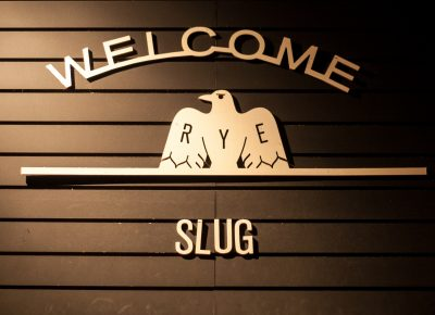 RYE X Slug. Rye was the location of the party providing great food and a great environment for hanging out and tarot card readings.