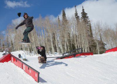 Men's Open Snow, Alex Lockwood, gap to front board. Photo: @cezaryna