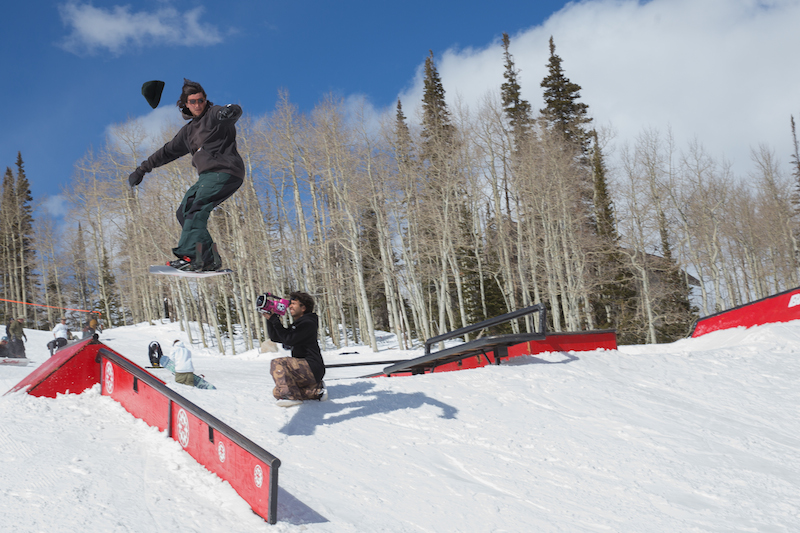 Men's Open Snow, Alex Lockwood, gap to front board. Photo: @cezaryna