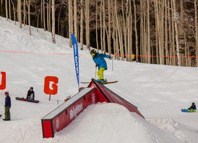 Josh Kaelberer, rail slide. Photo: CJ Anderson