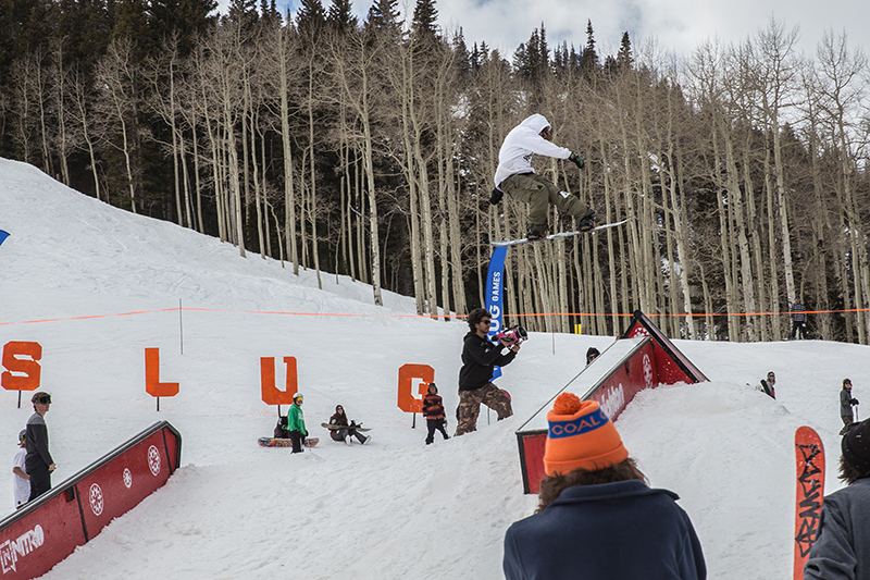 Men's Open Snow 2nd place winner Jeff Hopkins, huge gap to tail press. Photo: @cezaryna