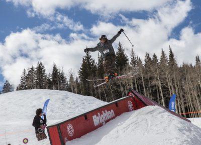 Men's Open Ski, Tucker FitzSimons, huge gap. Photo: @cezaryna
