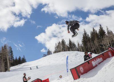 Men's Open Snow, Jaromie Nolan, huge gap to tail press. Photo: @cezaryna