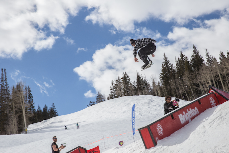Men's Open Snow, Jaromie Nolan, huge gap to tail press. Photo: @cezaryna
