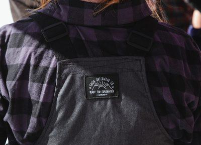 SLUG staff rocking SAGA outerwear. Photo: Matthew Hunter