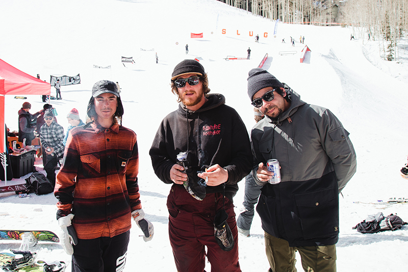 Fava and crew decompressing between heats. Photo: Matthew Hunter