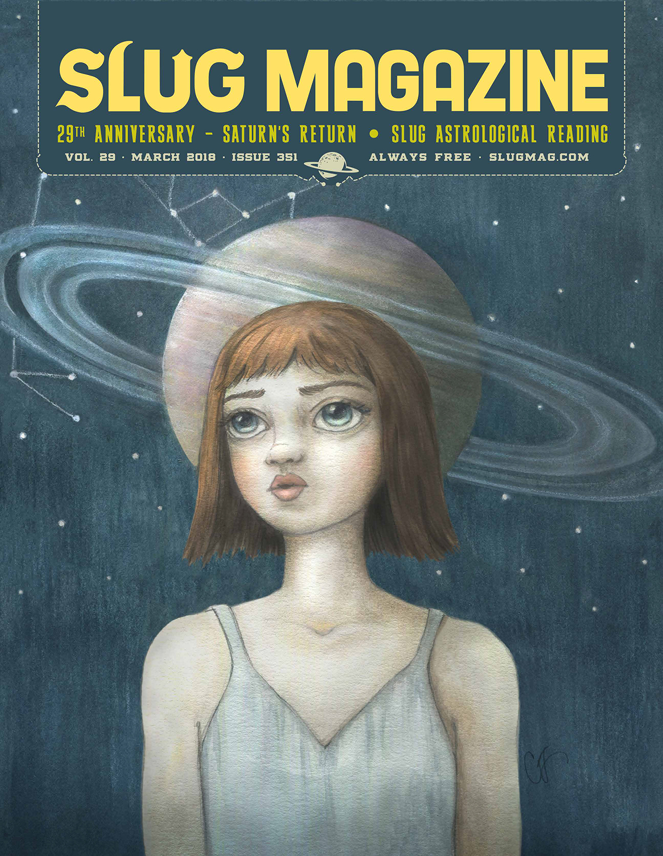 Issue 351 – March 2018 cover art