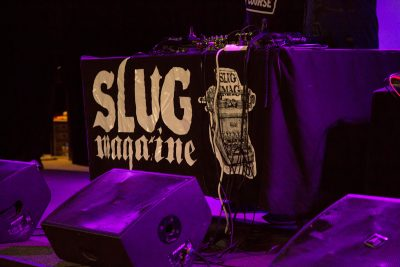 The stage awaits patrons and DJ's. Photo: Jessica Bundy