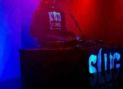 The second DJ starts his set. Photo: Jessica Bundy
