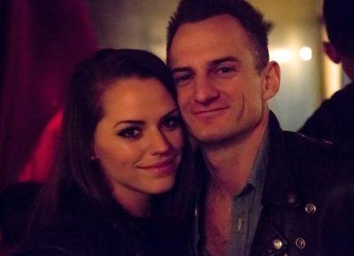 Couple Courtney Williams and staff writer Tyson Call enjoying the night. Photo: Jessica Bundy