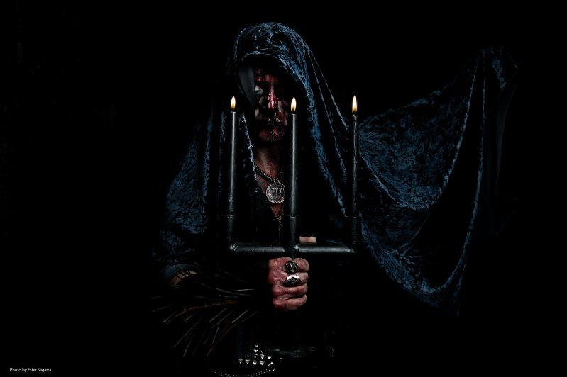 Erik Danielsson of Watain. Photo: Ester Segarra