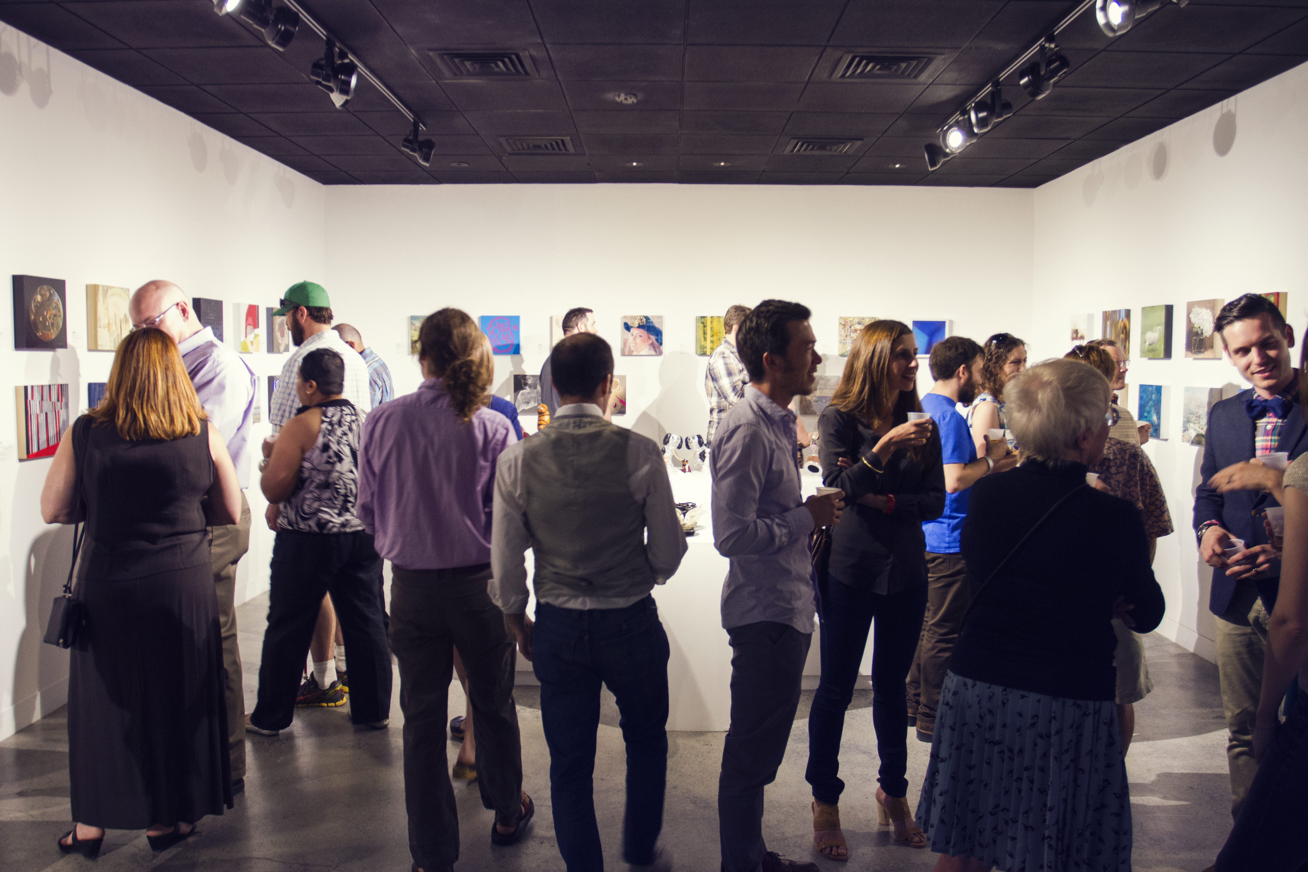 Fluid Art brings together the best of Utah's contemporary art and craft beer. Photo: Talyn Sherer.