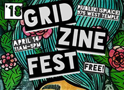 Grid Zine Fest @ Publik Coffee 04.14