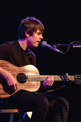 Jake Bugg sings hits from previous records during his set at The State Room. Photo: Lmsorenson.net