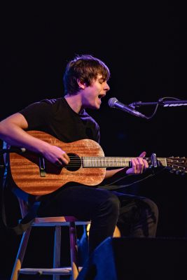 Jake Bugg onstage at The State Room. Photo: Lmsorenson.net