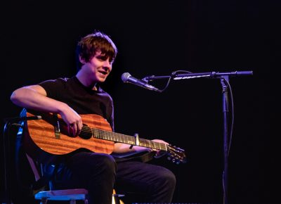 Jake Bugg thanks his Salt Lake fans for coming out. Photo: Lmsorenson.net