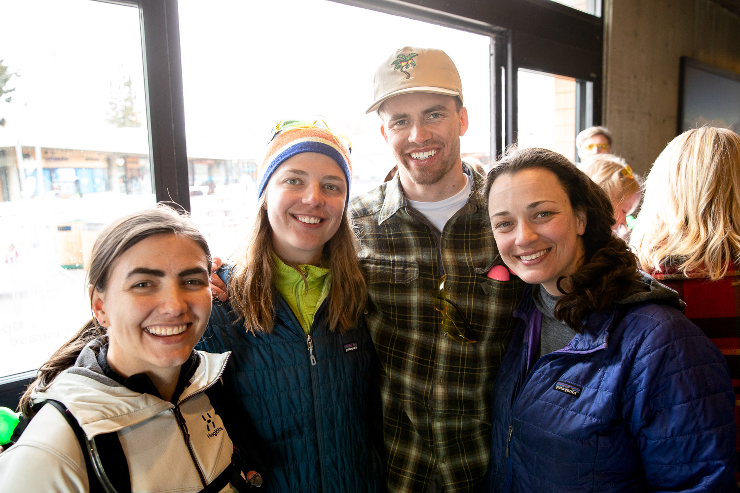 "Laura, Zoe, Mike and Maya really love fighting climate change and ""Here We Go Again"" by OK Go. Photo: Lmsorenson.net"