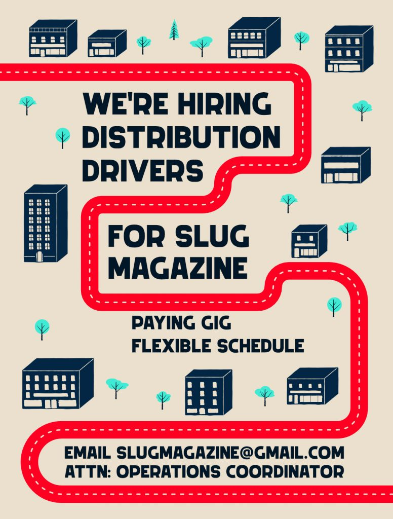 Now Hiring: Distribution Driver
