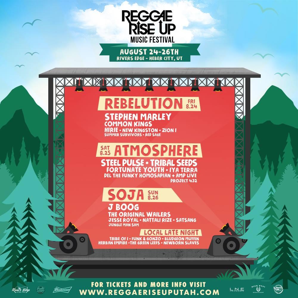 Reggae Riseup Music Festival 2018