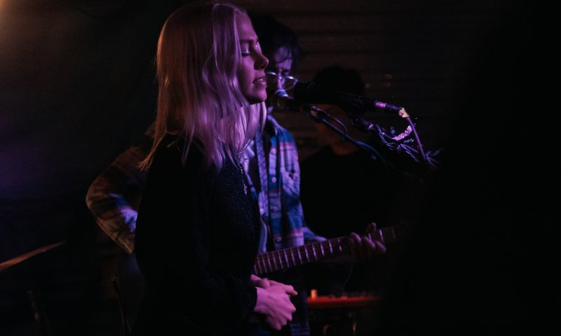 Phoebe Bridgers made a guest appearance singing backing vocals for several of Harrison Whitford's songs. Photo: Matthew Hunter
