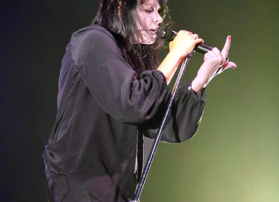 K.Flay breaking it down for the front row people.