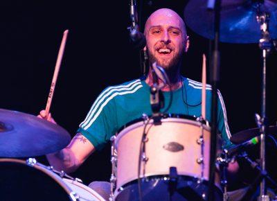 Mince Fratelli, drummer for the Scottish rock group The Fratellis. Photo: Lmsorenson.net
