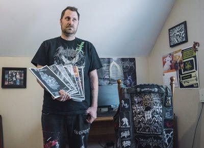 Bryer Wharton, the metal mastermind behind BS Mag.