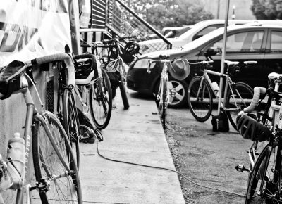 A few of the bikes ridden in this year's SLUG Cat.
