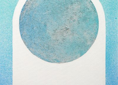 """Havoc Hendricks, """"Moon Arch Blue,"""" from Moons & Mountains."""