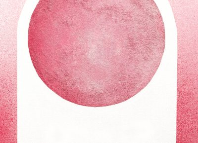 """Havoc Hendricks, """"Moon Arch Pink,"""" from Moons & Mountains."""