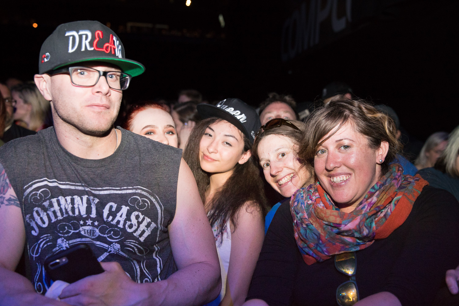 Jon, Kat, Andrea, Taylor, Victoria do not know each other, but they know K.Flay.