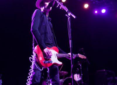 "Jon Fratelli singing hits like ""Henrietta"" onstage in Salt Lake City. Photo: Lmsorenson.net"