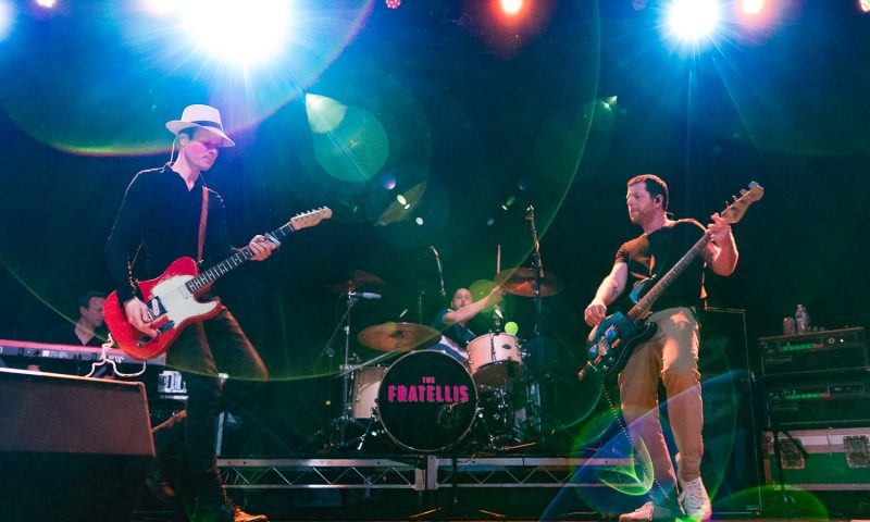 The Fratellis onstage at The Complex. Photo: Lmsorenson.net